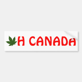 Adesivo De Para-choque Oh Canadá