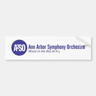 Adesivo De Para-choque Orquestra sinfónica de Ann Arbor