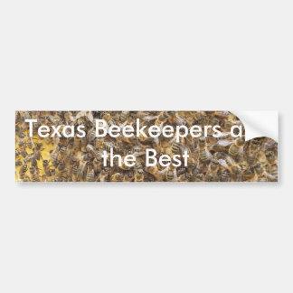 Adesivo De Para-choque Os apicultor de Texas são o melhor