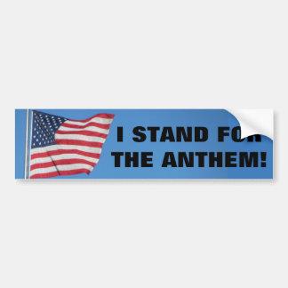 Adesivo De Para-choque Os Estados Unidos embandeiram-me representam o