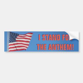 Adesivo De Para-choque Os EUA embandeiram-me representam o vermelho do