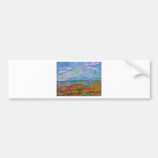 Adesivo De Para-choque Outono azul enevoado de Ridge