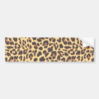 Adesivo De Para-choque Padrões da pele animal do impressão do leopardo