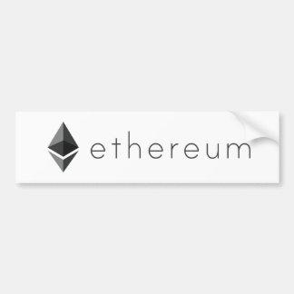 Adesivo De Para-choque Paisagem de Ethereum