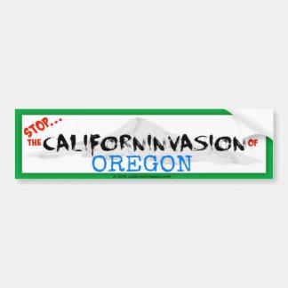 Adesivo De Para-choque Parada! O Californinvasion de Oregon