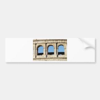Adesivo De Para-choque parede de três arcos