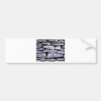 Adesivo De Para-choque parede empilhada da rocha