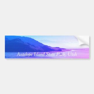 Adesivo De Para-choque Parque estadual da ilha do antílope, Great Salt