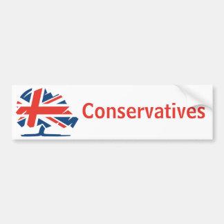 Adesivo De Para-choque Partido conservador Reino Unido