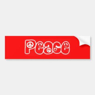 Adesivo De Para-choque Paz