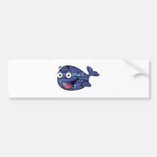 Adesivo De Para-choque Peixes