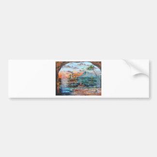 Adesivo De Para-choque Pintura de Bell do funileiro da angra do gancho de