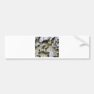 Adesivo De Para-choque plissados aleatórios da rocha
