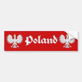 Adesivo De Para-choque Polônia polonês de Eagle