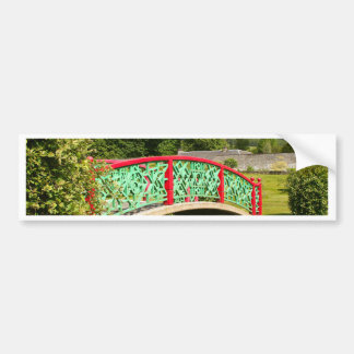 Adesivo De Para-choque Ponte chinesa, jardins, Scotland