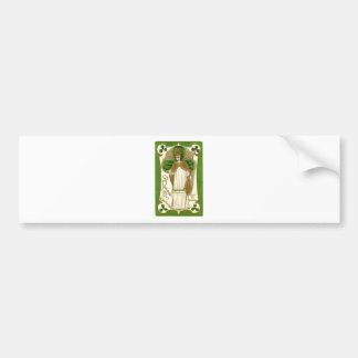 Adesivo De Para-choque Poster velho bonito de patrick de santo