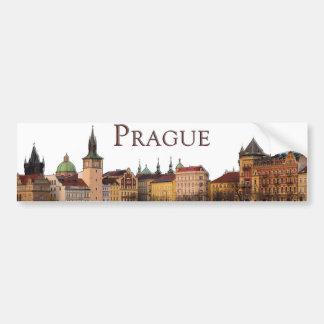 Adesivo De Para-choque Praga