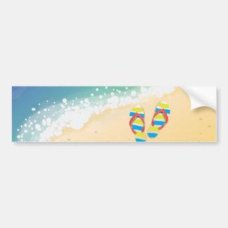 Adesivo De Para-choque Praia