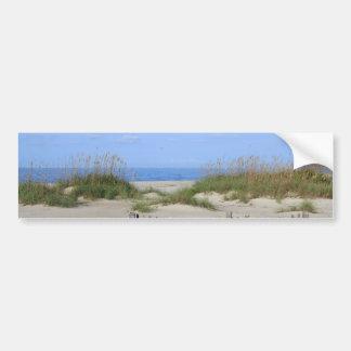 Adesivo De Para-choque Praia de Caswell, terra do NC e Seascape