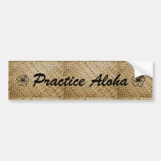 Adesivo De Para-choque Prática Aloha