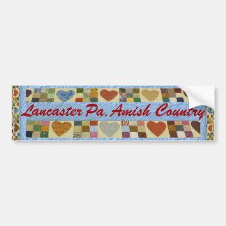 Adesivo De Para-choque Presente de Amish, autocolante no vidro traseiro
