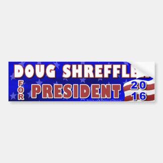 Adesivo De Para-choque Presidente de Doug Shreffler eleição 2016