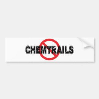 Adesivo De Para-choque Proibição Chemtrails