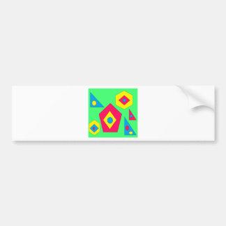 Adesivo De Para-choque Projetos do abstrato