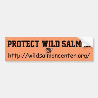 Adesivo De Para-choque Proteja o autocolante no vidro traseiro Salmon