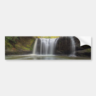 Adesivo De Para-choque Quedas escondidas no Outono de Clackamas Oregon