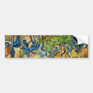 Adesivo De Para-choque Raizes da árvore por Vincent van Gogh (em julho de