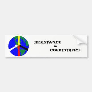 Adesivo De Para-choque Resistência = Coexistance