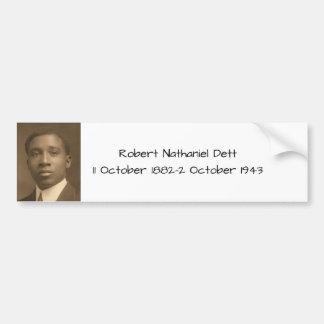 Adesivo De Para-choque Robert Nathaniel Dett