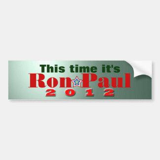 Adesivo De Para-choque Ron Paul