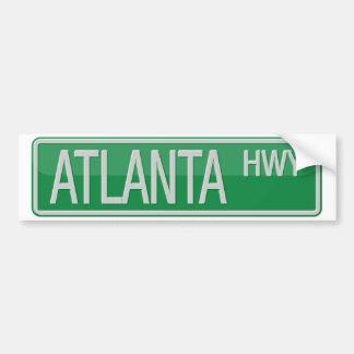 Adesivo De Para-choque rua, estrada, sinal, verde, branco, canção, filme,