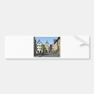 Adesivo De Para-choque Rua principal da cidade de Baviera