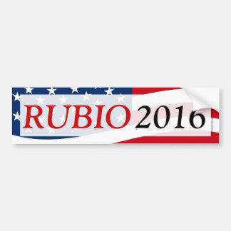 Adesivo De Para-choque Rubio 2016, Marco para o presidente