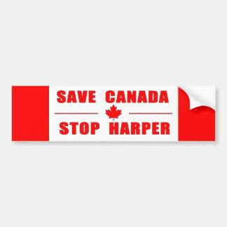 Adesivo De Para-choque Salvar Canadá - pare o autocolante no vidro