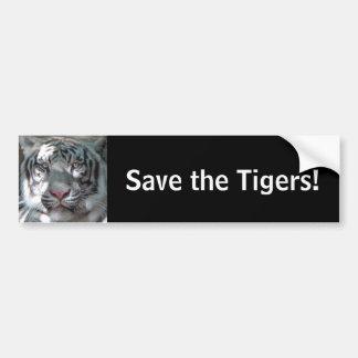 Adesivo De Para-choque Salvar os tigres