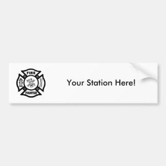 Adesivo De Para-choque Sapador-bombeiro EMT