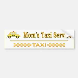 Adesivo De Para-choque Serviço do táxi da mãe