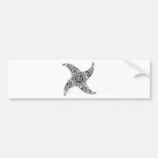 Adesivo De Para-choque símbolo dos céltico-guerreiros