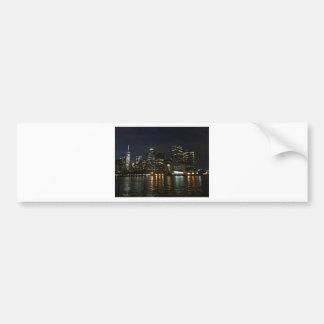Adesivo De Para-choque Skyline de Manhattan