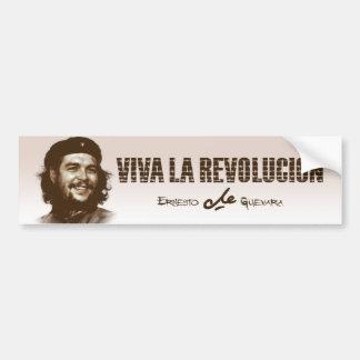 Adesivo De Para-choque Sorriso de Che Guevarra