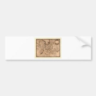 Adesivo De Para-choque Suiça 1773 de Genebra