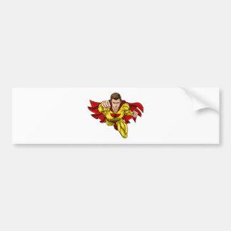 Adesivo De Para-choque Super-herói