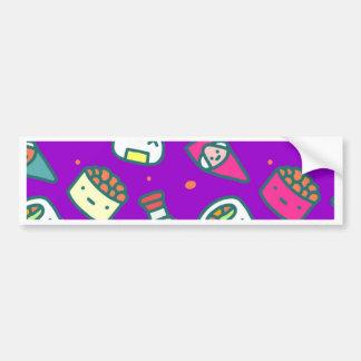 Adesivo De Para-choque Sushi Moki