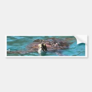 Adesivo De Para-choque Tartaruga de mar da boba