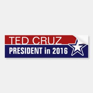 Adesivo De Para-choque Ted Cruz em 2016