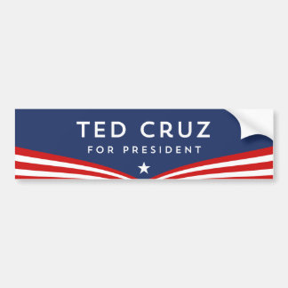 Adesivo De Para-choque Ted Cruz para o presidente
